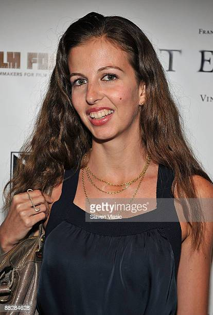 Filmmaker Chiara Clemente attends the premiere of TETRO at the Directors Guild Theatre on June 7 2009 in New York City