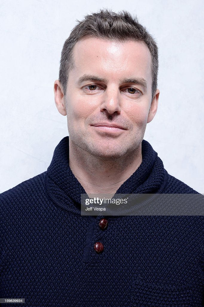 Filmmaker Chris Nelson poses for a portrait during the 2013 Sundance Film Festival at the WireImage Portrait Studio at Village At The Lift on January 21 2013 in Park City, Utah.