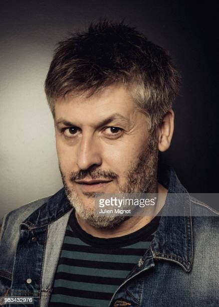 Filmmaker Christophe Honoré is photographed for Grazia Daily on April 2018 in Cannes France