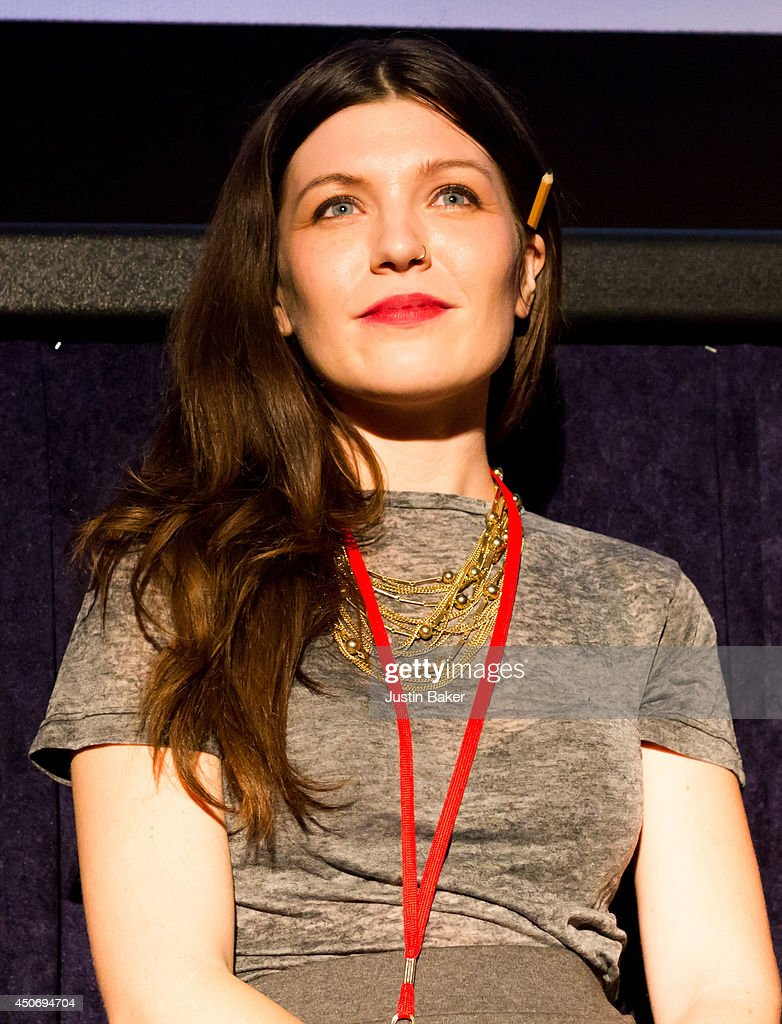 Filmmaker Claire Marie Vogel speaks onstage at Eclectic Mix 1 during the 2014 Los Angeles Film Festival at Regal Cinemas L.A. Live on June 13, 2014 in Los Angeles, California.