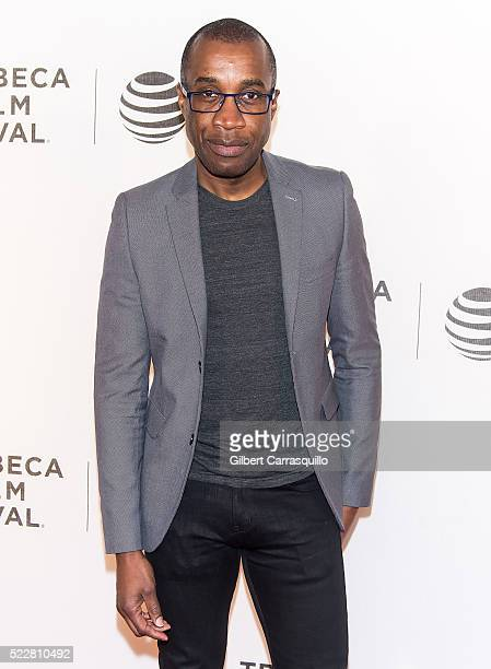 Filmmaker Clement Virgo attends Tribeca Tune In 'Greenleaf' Screening during 2016 Tribeca Film Festival at John Zuccotti Theater at BMCC Tribeca...