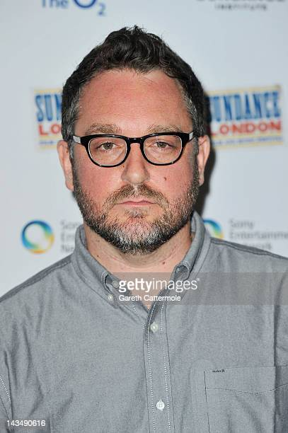 Filmmaker Colin Trevorrow attends Safety Not Guaranteed screening during Sundance London at Cineworld 02 Arena on April 27 2012 in London England