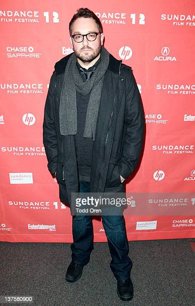 Filmmaker Colin Trevorrow attends the Safety Not Guaranteed premiere during the 2012 Sundance Film Festival held at Prospector Square Theatre on...