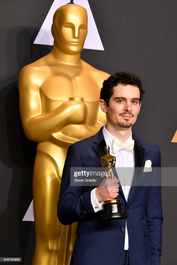 Filmmaker Damien Chazelle, winner of the award for Directing for 'La La Land,' poses in the press room during the 89th Annual Academy Awards at Hollywood & Highland Center on February 26, 2017 in Hollywood, California.