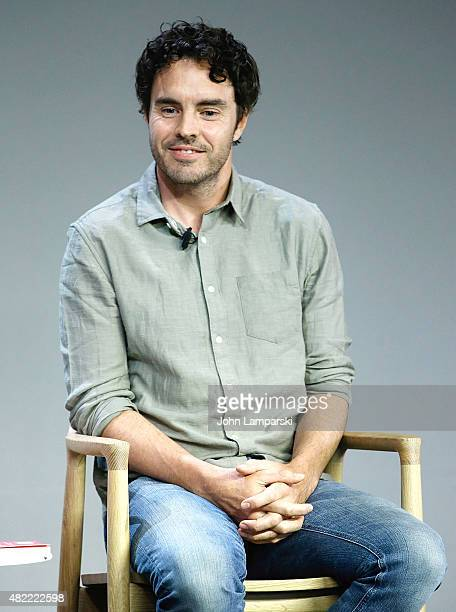 Filmmaker Damon Gameau of That Sugar Film speaks during Apple Store Soho Presents Meet the Filmmaker at Apple Store Soho on July 28 2015 in New York...