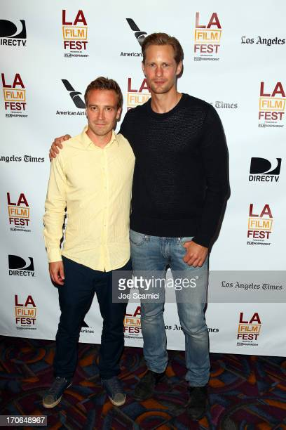 Filmmaker Daniel Dencik and actor Alexander Skarsgard attend 'The Expedition To The End Of World' premiere during the 2013 Los Angeles Film Festival...
