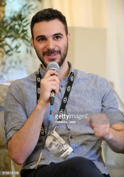 Filmmaker Daniel Zayn Alexander speaks at the Shorts Filmmakers Seminar during The 33rd Santa Barbara International Film Festival at the Lobero...