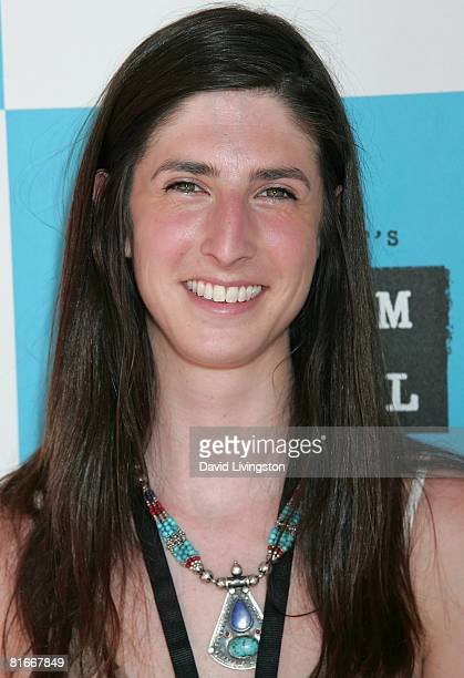 Filmmaker Danielle Bernstein attends the 2008 Los Angeles Film Festival's 'When Clouds Clear' screening on June 22 2008 at The Landmark Regent in...