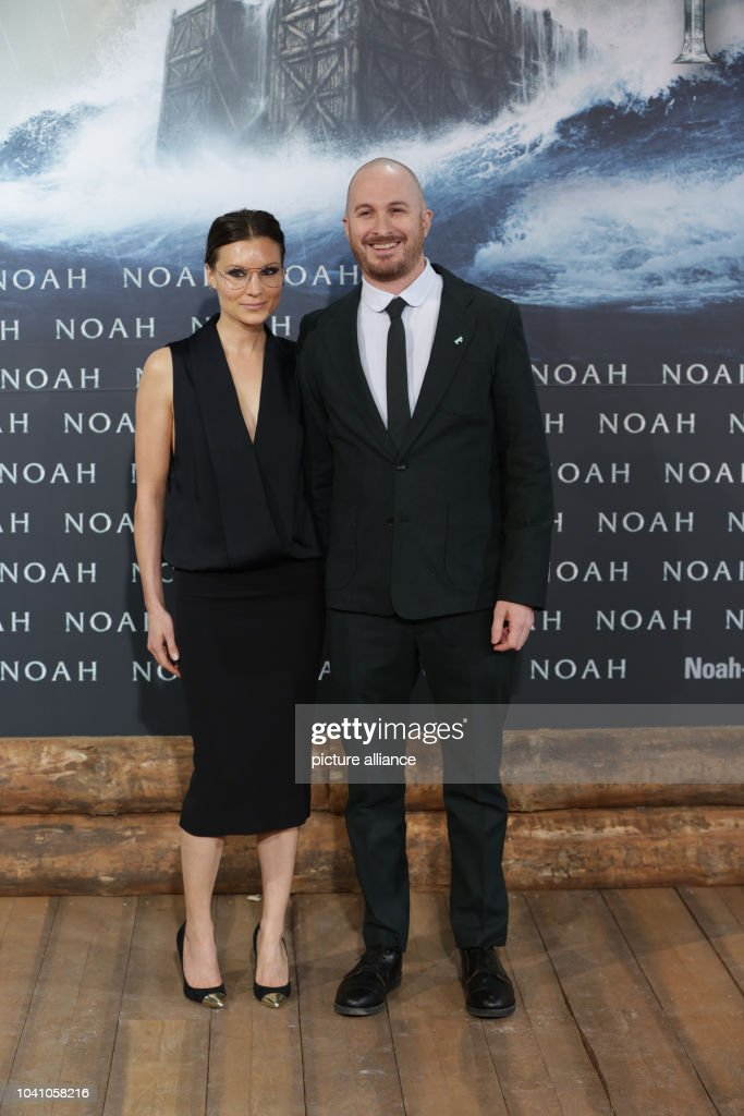 Us Filmmaker Darren Aronofsky And His Unknown Escort Arrive To The European Premiere Of The Movie