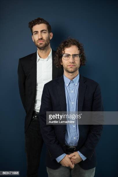 Filmmaker Dave McCary and comedian Kyle Mooney are photographed for Self Assignment on May 20 2017 in Cannes France