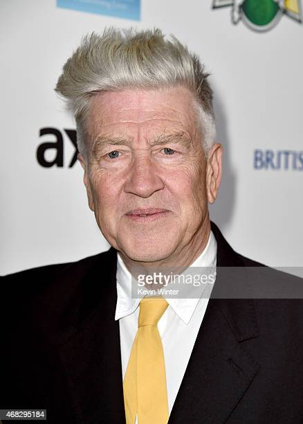 Filmmaker David Lynch attends the David Lynch Foundation's DLF Live presents 'The Music Of David Lynch' at The Theatre at Ace Hotel on April 1 2015...