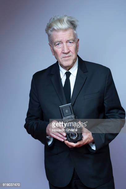 Filmmaker David Lynch poses for a portrait during the 12th Rome Film Festival on November 2017 in Rome Italy