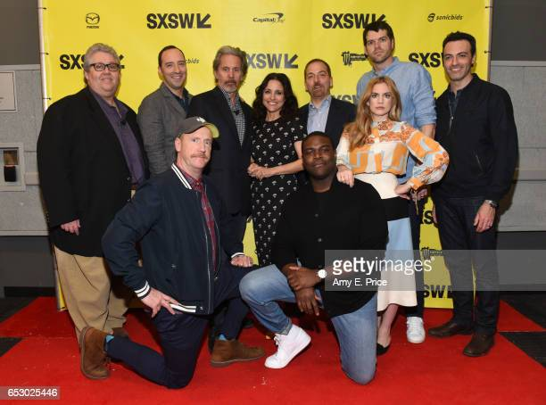 Filmmaker David Mandel, actors Tony Hale, Matt Walsh, Gary Cole, Julia Louis-Dreyfus, Sam Richardson, SXSW moderator Chuck Todd, actors Anna...