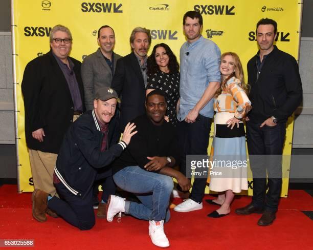 Filmmaker David Mandel actors Tony Hale Matt Walsh Gary Cole Julia LouisDreyfus Sam Richardson Anna Chlumsky Timothy Simons and Reid Scott attend...