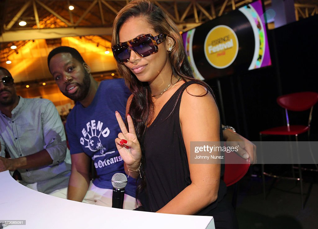 Filmmaker David Talbert and actress Lauren London attend the 2013 Essence Festival at the Ernest N. Morial Convention Center on July 6, 2013 in New Orleans, Louisiana.