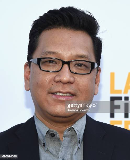 Filmmaker Derek Nguyen attends the opening night premiere of Focus Features' 'The Book of Henry' during the 2017 Los Angeles Film Festival at...