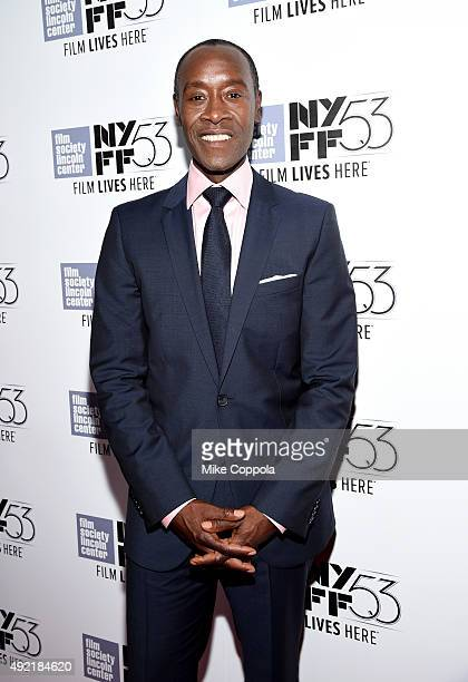 Filmmaker Don Cheadle attends 53rd New York Film Festival Closing Night Gala Screening of 'Miles Ahead' at Alice Tully Hall Lincoln Center on October...