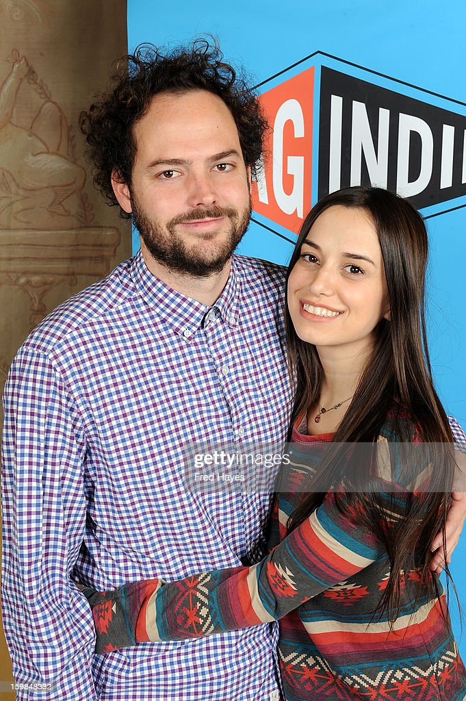 Filmmaker Drake Doremus and actress Alana Morshead attends the SAGIndie Brunch at Cafe Terigo on January 21, 2013 in Park City, Utah.