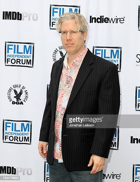 Filmmaker Eddie Schmidt attends the Film Independent Film Forum at Directors Guild of America on October 20, 2012 in Los Angeles, California.