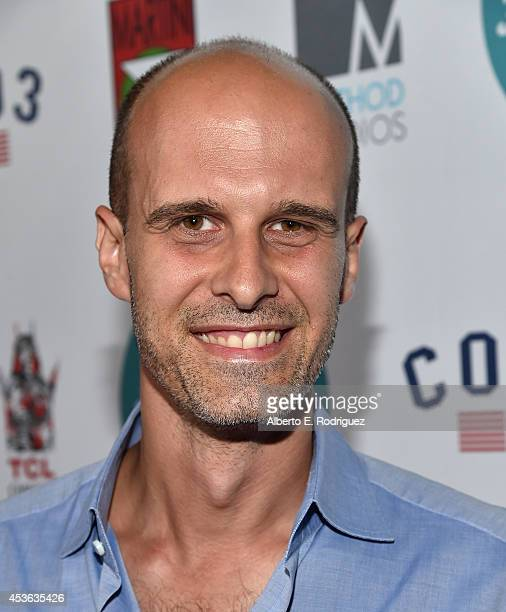 Filmmaker Eduardo Ponti attends the Hollyshorts 10th Anniversary Opening Night at The TCL Chinese Theatres on August 14, 2014 in Hollywood,...