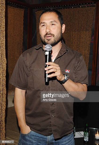 Filmmaker Eli Akira Kaufman participates in a QA following screenings of their films at the Cinema Lounge in the Whiskey Blue Bar at the W Hotel...