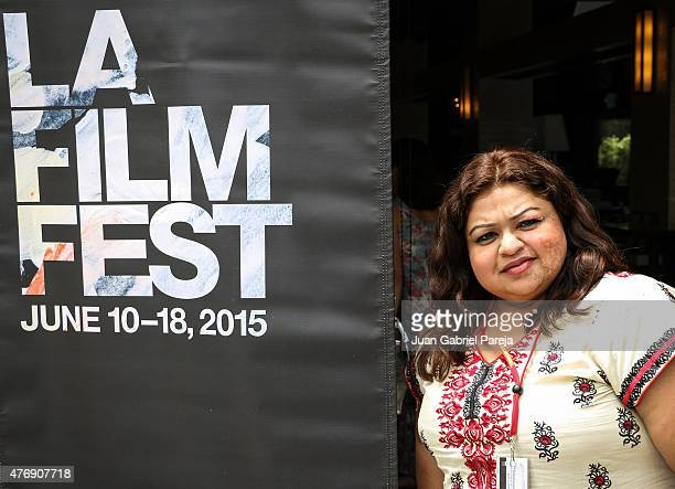 Filmmaker Eman Syed attends the AFS Luncheon during the 2015 Los Angeles Film Festival at Casa Nostra on June 11, 2015 in Los Angeles, California.