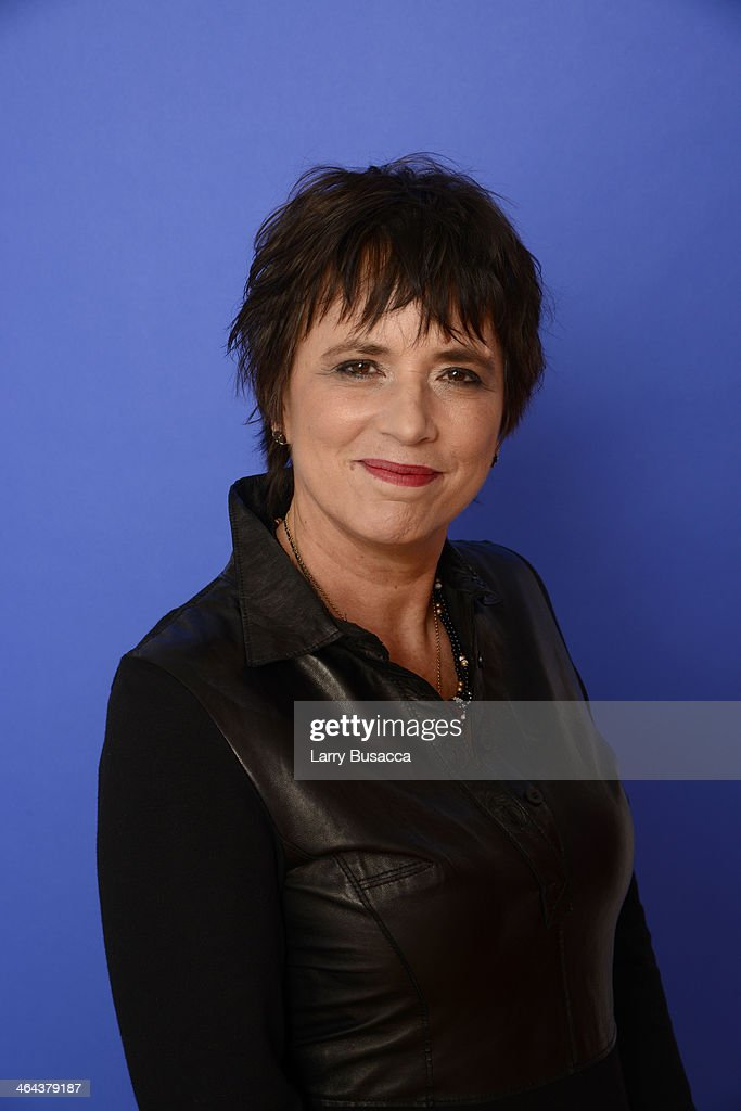 Filmmaker Eve Ensler poses for a portrait during the 2014 Sundance Film Festival at the Getty Images Portrait Studio at the Village At The Lift Presented By McDonald's McCafe on January 22, 2014 in Park City, Utah.
