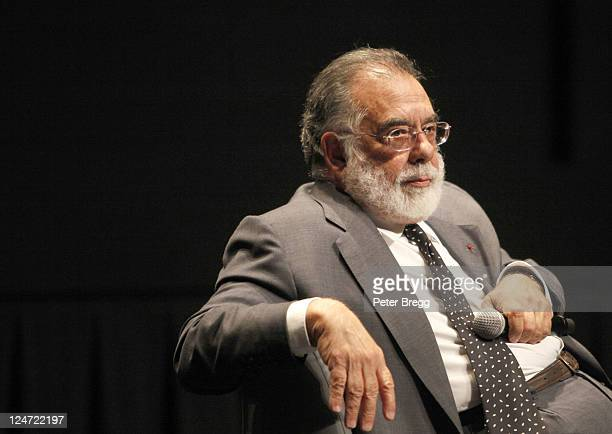 """Filmmaker Francis Ford Coppola speaks at """"A Conversation With Francis Ford Coppola"""" at TIFF Bell Lightbox during the 2011 Toronto International Film..."""