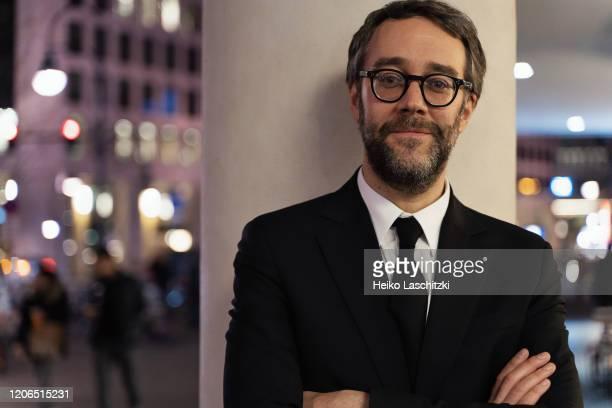 Filmmaker Francois Letourneau poses for a portrait on February 25 2020 in Berlin Germany
