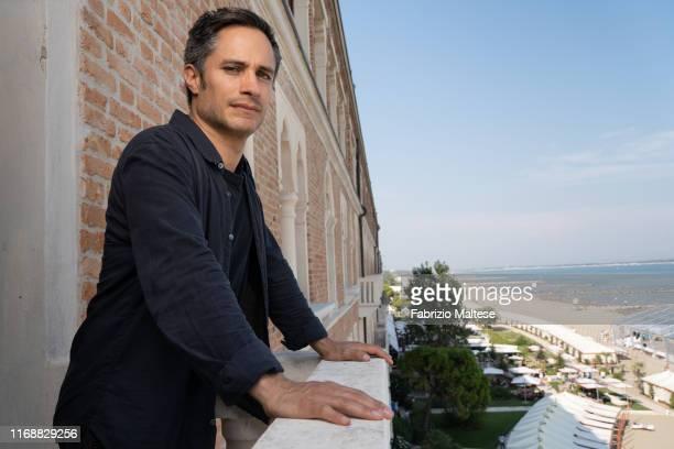 Filmmaker Gael Garcia Bernal poses for a portrait on September 1, 2019 in Venice, Italy.