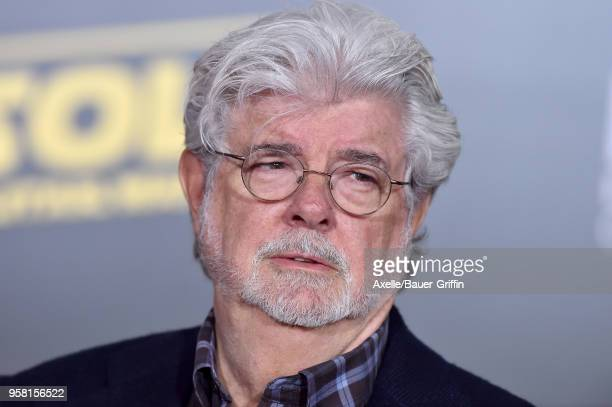 Filmmaker George Lucas arrives at the premiere of Disney Pictures and Lucasfilm's 'Solo: A Star Wars Story' at the El Capitan Theatre on May 10, 2018...