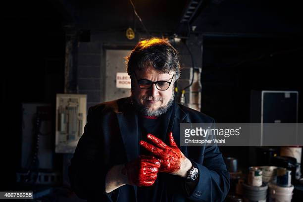 Filmmaker Guillermo del Toro is photographed for The Hollywood Reporter on October 3 2013 in Toronto Ontario PUBLISHED IMAGE