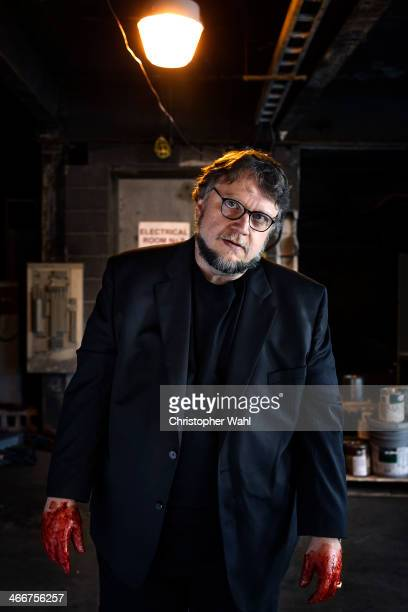 Filmmaker Guillermo del Toro is photographed for The Hollywood Reporter on October 3 2013 in Toronto Ontario