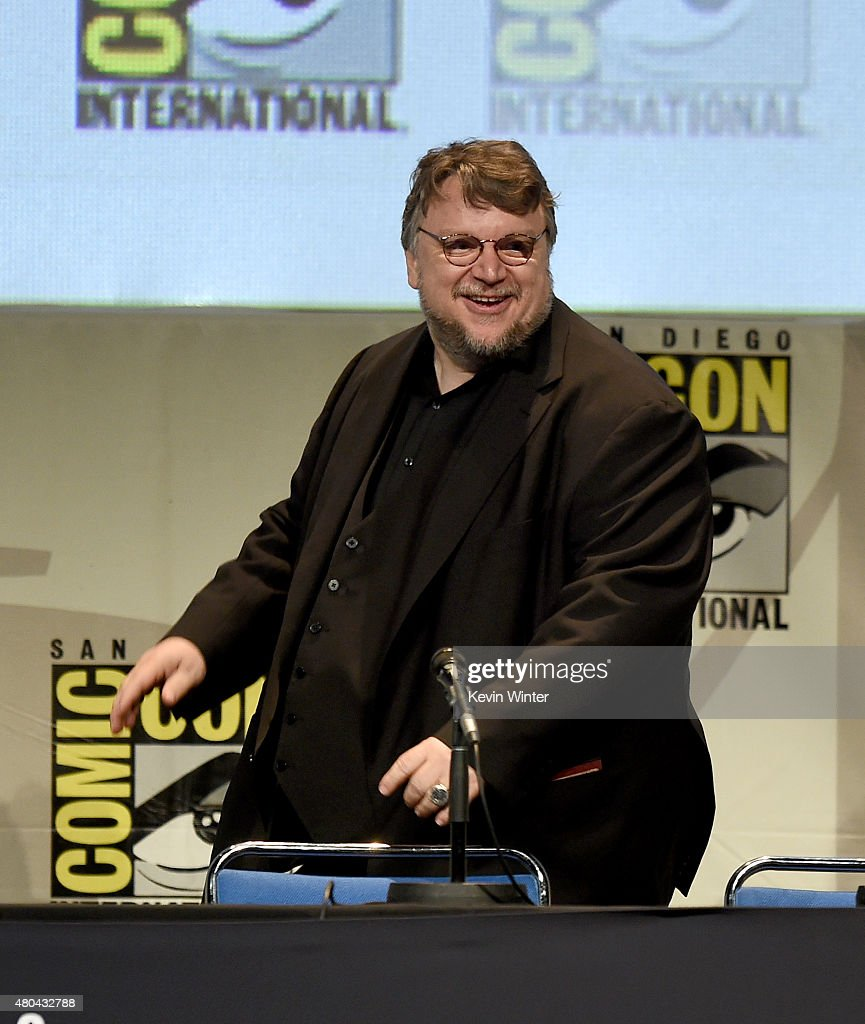 Filmmaker Guillermo del Toro speaks onstage at the Legendary Pictures panel during Comic-Con International 2015 the at the San Diego Convention Center on July 11, 2015 in San Diego, California.