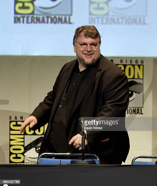Filmmaker Guillermo del Toro speaks onstage at the Legendary Pictures panel during ComicCon International 2015 the at the San Diego Convention Center...