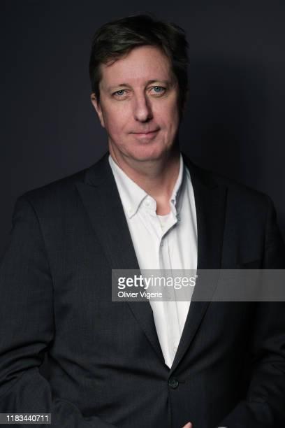 Filmmaker Hal Hartley poses for a portrait on September 10, 2019 in Paris, France.