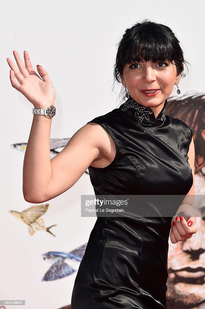 Filmmaker Hana Makhmalbaf attends the 'The President' premiere during the 71st Venice Film Festival on August 27, 2014 in Venice, Italy.