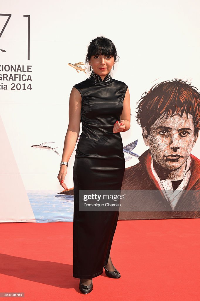Filmmaker Hana Makhmalbaf attends the 'The President' premiere during the 71st Venice Film Festival on August 27, 2014 in Venice, Italy.