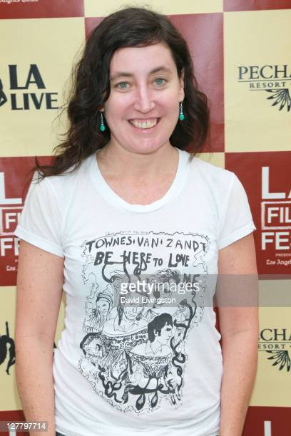 Filmmaker Heather Courtney attends the Money Talks & Art Matters panel discussion sponsored by LMU School of Film and Television during the 2011 Los...