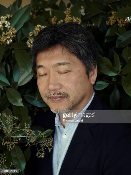 Filmmaker Hirokazu Koreeda is photographed for Gala Croisette on May 2018 in Cannes France