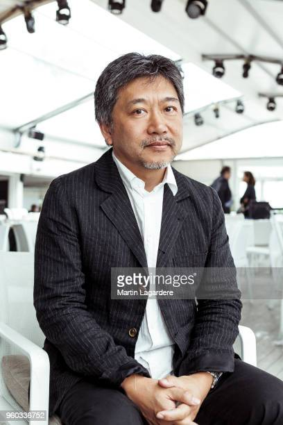 Filmmaker Hirokazu Koreeda is photographed for Self Assignment on May 2018 in Cannes France