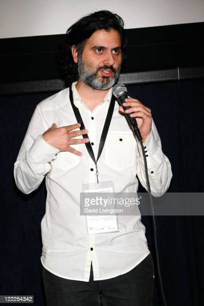 """Filmmaker Hossein Keshavarz attends the """"Dog Sweat"""" Q&A during the 2010 Los Angeles Film Festival at Regal Cinemas at LA Live Downtown on June 19,..."""