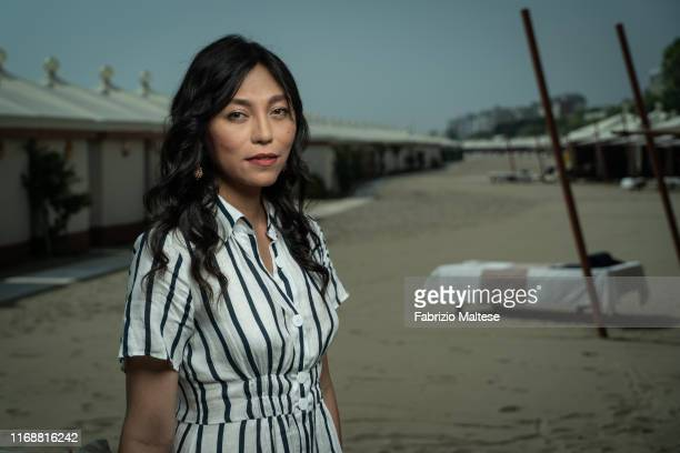 Filmmaker Isabel Sandoval poses for a portrait on August 28, 2019 in Venice, Italy.