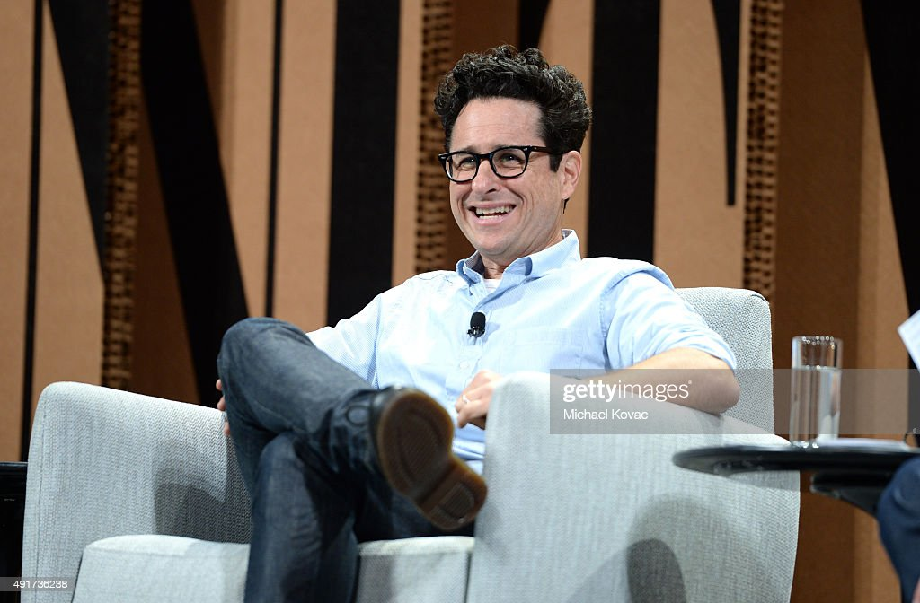 Filmmaker J. J. Abrams speaks onstage during 'Changing Worlds, Inventing Worlds' speaks onstage at the Vanity Fair New Establishment Summit at Yerba Buena Center for the Arts on October 7, 2015 in San Francisco, California.