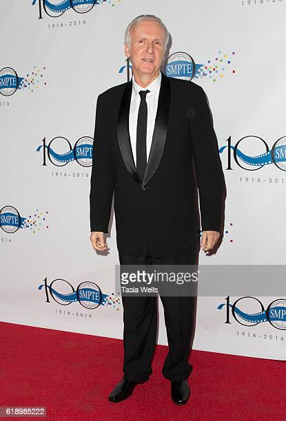 Filmmaker James Cameron attends SMPTE Celebrates 100th Anniversary at The Ray Dolby Ballroom at Hollywood Highland Center on October 28 2016 in...