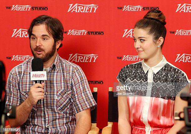 Filmmaker James Ponsoldt and actress Mary Elizabeth Winstead attend the Variety Studio Presented By Moroccanoil during the Toronto International Film...