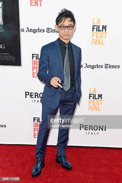 Filmmaker James Wan attends the premiere of The Conjuring 2 during the 2016 Los Angeles Film Festival at TCL Chinese Theatre IMAX on June 7 2016 in...