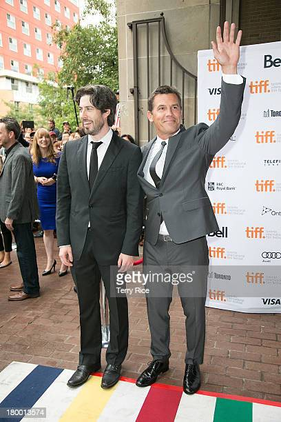 Filmmaker Jason Reitman and actor Josh Brolin attend the 'Labor Day' premiere during the 2013 Toronto International Film Festival at Ryerson Theatre...