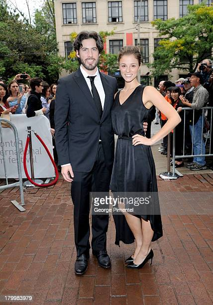 Filmmaker Jason Reitman and guest attend the 'Labor Day' premiere during the 2013 Toronto International Film Festival at Ryerson Theatre on September...
