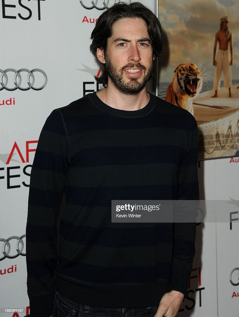 Filmmaker Jason Reitman arrives at the 'Los Angeles Times Young Hollywood' Panel during 2012 AFI Fest 2012 presented by Audi at Grauman's Chinese Theatre on November 2, 2012 in Hollywood, California.